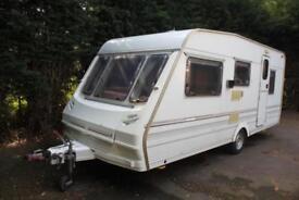 Abbey County 1996 5 Berth Caravan + Full Awning