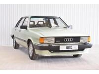 AUDI 80 CD B2 1.9 4DR GREEN SALOON 1982 LOW MILEAGE!