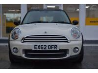 BAD CREDIT CAR FINANCE AVAILABLE 2012 62 MINI COOPER CHILLI