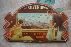 Vintage Silvertown Needle Case Made in Germany 1930