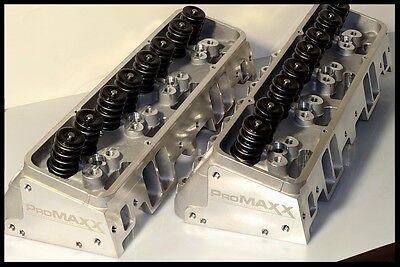 PROMAXX 200cc SBC CHEVY ALUMINUM HEADS 64CC COMBUSTION