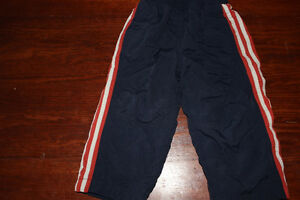 2T lined track pants $3