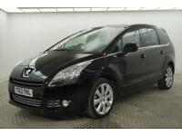 2013 Peugeot 5008 HDI ALLURE Diesel black Manual
