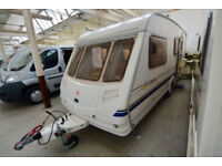 2001 Sterling Europa 520 4 Berth Touring Caravan