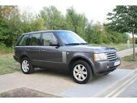 LHD LEFT HAND DRIVE Land Rover Range Rover 3.0Td6 AUTO 2006 Vogue HSE GREY