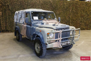 LAND ROVER DEFENDER 110 DIESEL MILITARY PERENTIE GS