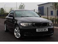 BMW 1 Series 2.0 120d SE 2dr, AUTOMATIC, WIDE SCREEN SAT NAV
