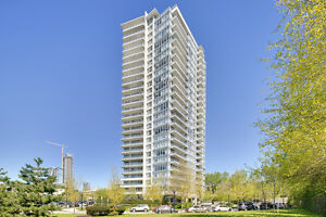 Burnaby Brentwood 2Br+2bath High-rise unit for Rent