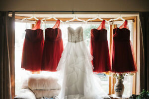 Beautiful Wedding Dress and Bridesmaids Dresses For Sale