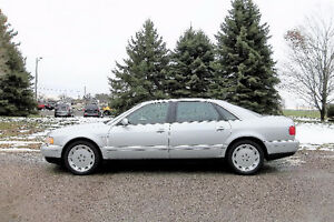 2002 Audi A8L Quattro AWD Sedan- Certified & E Tested. NEW TIRES