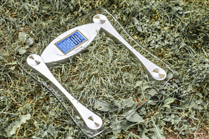 Taylor: Glass Digital Scale - Tempered Glass & LCD Display
