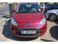 2009 59 Ford Ka 1.2 GOOD AND BAD CREDIT CAR FINANCE AVAILABLE
