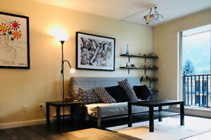 Rent furnished, recently renovated, Squamish downtown app.