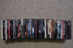 A Great Collection of 46 DVDs for sale