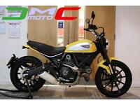 2015 Ducati Scrambler Icon Yellow 838 Miles 1 Owner | £97.43 pcm
