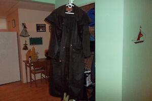 manteau de toile imperméable