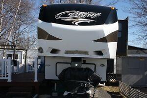 Roulotte Fifth Wheel Cougar High Country 280RLS