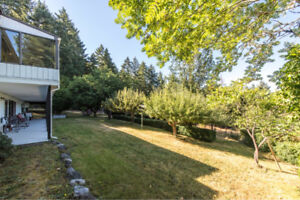 Four bedroom house for rent in Cowichan Bay