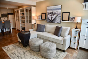 FULLY FURNISHED EXECUTIVE BASEMENT SUITE for JULY 1!!!