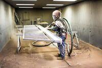 Hiring sandblaster/laborer