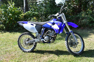 Competition grade Yamaha YZ250F in excellent condition