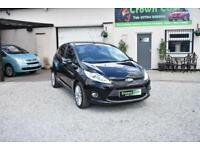 Ford Fiesta 1.4 Titanium 5 DOOR BLACK 2009 MODEL +BEAUTIFUL ORIGINAL CAR+