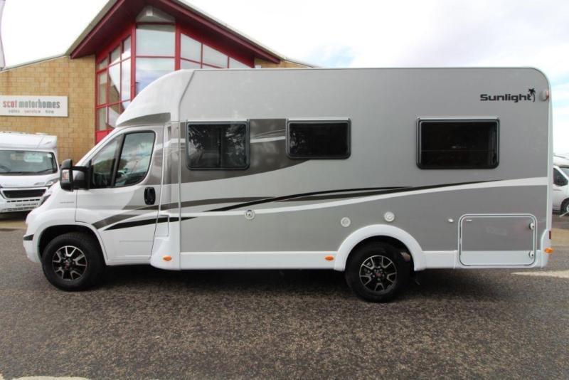 Sunlight T64 4 Berth Motorhome for sale