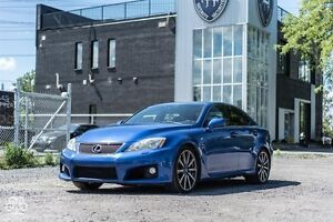 2008 Lexus ISF Series 1 ACCIDENT FREE -ONE OWNER  LOADED WITH NA