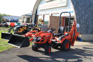 2014 KIOTI CS2410 24HP TRACTOR WITH LOADER AND BACKHOE NEW