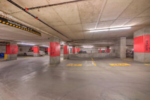 Stationnement intérieur centre-ville Inside parking downtown