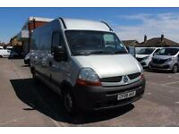 2008 Renault Master MM33dCi 100 Medium Roof Van Diesel grey Manual
