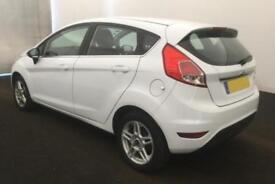 2012 WHITE FORD FIESTA 1.6 ZETEC POWERSHIFT 5DR HATCH CAR FINANCE FR £20 PW