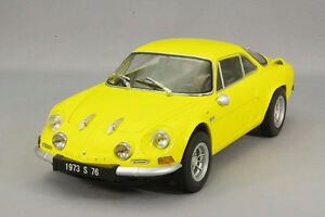 1/18 DIECAST KYOSHO RENAULT ALPINE A110 YELLOW NEW