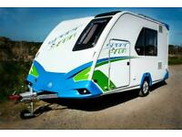 Knaus Sport and Fun Compact Caravan with Storage