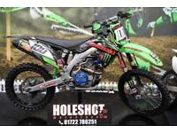 2013 KAWASAKI KXF 450 MOTOCROSS BIKE PRO CIRCUIT EXHAUST, RENTHAL HANDLEBARS