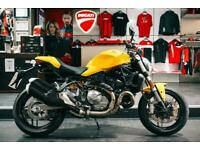 DUCATI MONSTER 821** LOW MILEAGE WITH FULL DEALER SERVICE HISTORY **