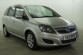 2013 Vauxhall Zafira DESIGN NAV CDTI ECOFLEX Diesel silver Manual