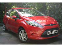 Ford **NEW SHAPE FIESTA** MK7 1.25 Edge 3 door RED