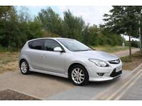 Hyundai i30 1.6CRDI (115ps) 2010 Edition SILVER 5 DOORS 6SPEED DIESEL LOW MILES