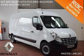 2013 Renault Master 2.3TD 125BHP LM35dCi (LWB)-SAT NAV-BLUETOOTH-PLYLINED-NO VAT