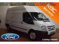 2012 Ford Transit 2.2TDCi (125PS) (EU5) 350L High Roof 350 LWB Trend-1 X OWNER-