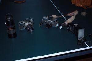 Cameras, Flash and Lens