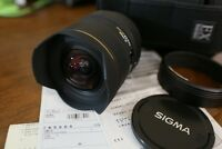 Ultra Wide SIGMA 12mm-24mm Lens for CANON full frame/crop body