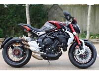 MV AGUSTA B3 BRUTALE DRAGSTER RR RED/BLACK OR RED/WHITE 17MY EURO 4 DRAGSTER RR