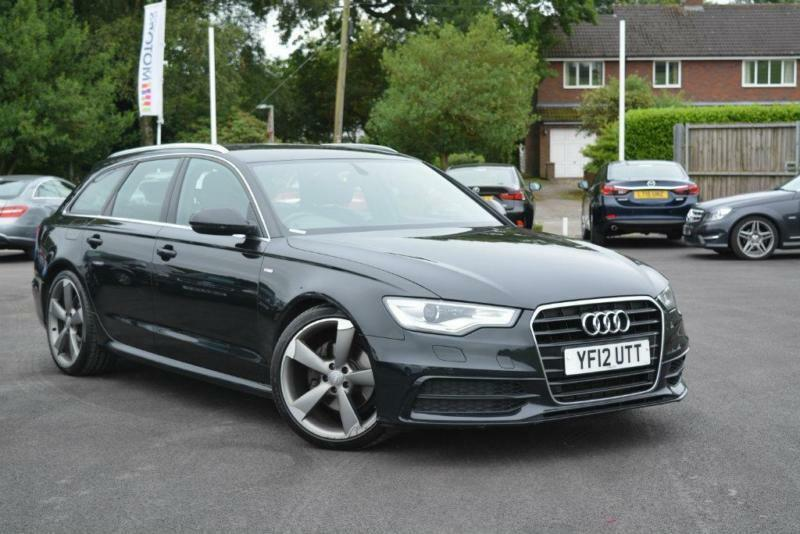 2012 audi a6 avant 3 0 tdi s line 5dr in newcastle under lyme staffordshire gumtree. Black Bedroom Furniture Sets. Home Design Ideas