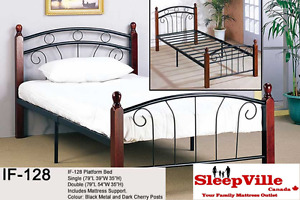 SINGLE/DOUBLE/QUEEN BED- FREE SAME DAY DELIVERY & INSTALL