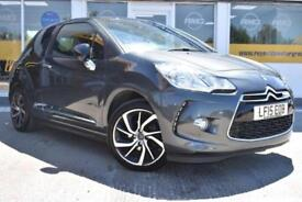 2015 15 CITROEN DS3 1.2 PURETECH DSTYLE PLUS GOOD AND BAD CREDIT CAR FINANCE