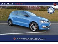 2015 Volkswagen Polo 1.2 TSI BlueMotion Tech SE Design (s/s) 3dr