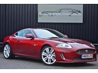 2010 Model Jaguar XKR 5.0 V8 Supercharged ( 503bhp ) * Claret with Ivory *