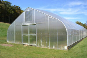 1600 sq ft Greenhouses for rent coming up in the spring.
